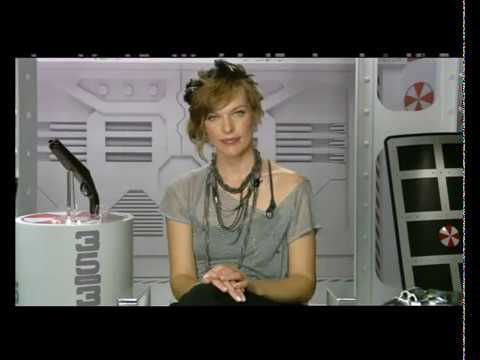 Milla Jovovich Interview Resident Evil Afterlife