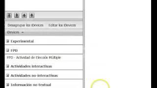 Agrupar, desagrupar, seleccionar y deseleccionar iDevices en eXeLearning