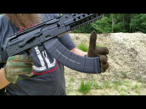 AC-47 Quad Stack AK47 Magazine Testing at Atlantic Firearms