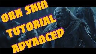 tutorial ork skin advanced for warhammer