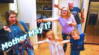 Mother May I With That YouTub3 Family! Fun Parlor Game! / The Beach House