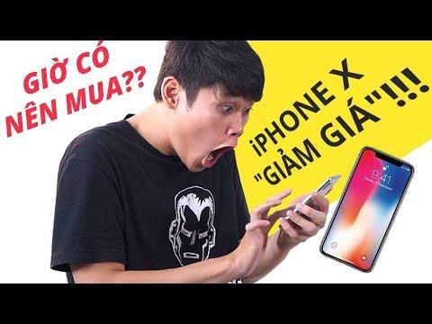 """CÓ NÊN MUA iPHONE X """"GIẢM GIÁ"""" Ở THỜI ĐIỂM HIỆN TẠI???"""
