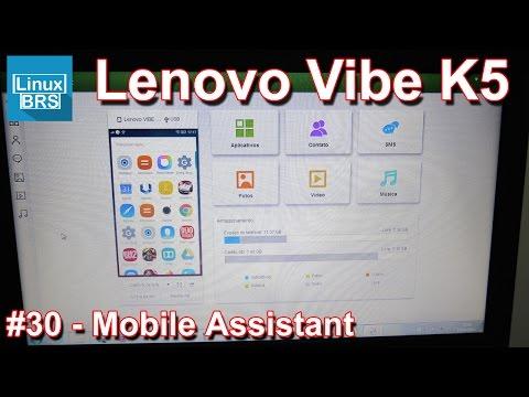 Lenovo Vibe K5 Brasil - Mobile Assistant (gereciamento pelo computador)