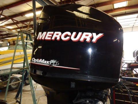6m4h95 Used Mercury 200l Optimax 200hp 2 Stroke