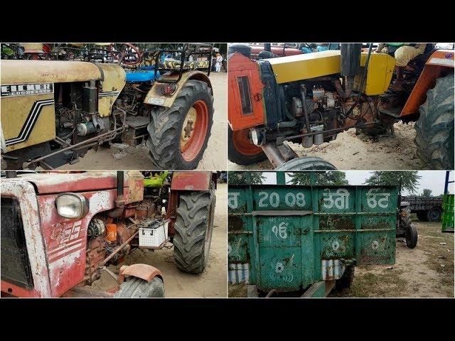 HINDUSTAN G 453,ESCORT 355,EICHER ,,Tractor Mela,#284,