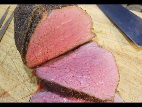 Bloody Halloween Roast Beef (Reverse Seared Eye of Round)