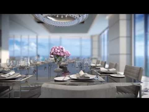 TURNBERRY OCEAN CLUB - PENTHOUSE UNITS - Triplex Video