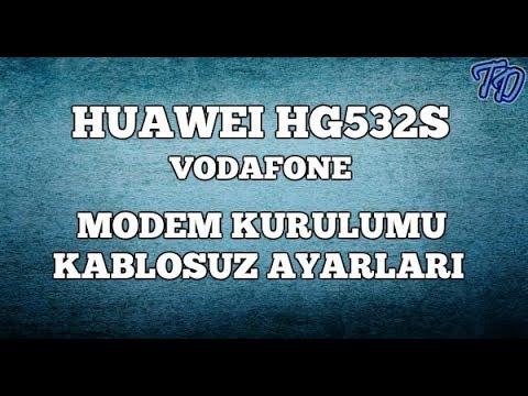 Huawei HG532s Vodafone Modem Kurulumu