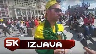 Navijač Brazila u Moskvi Pred Početak Svetskog Prvenstva | SPORT KLUB Fudbal