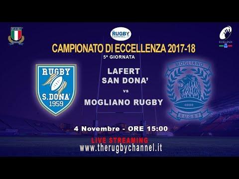 5a giornata Campionato d'Eccellenza - Lafert San Donà v Mogliano Rugby