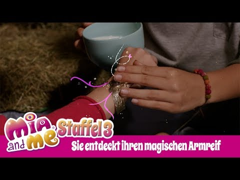 Sie entdeckt ihren magischen Armreif - Mia and me - Staffel 3