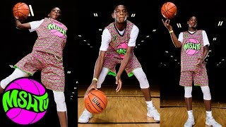DUNKING 6TH GRADER - Elijah Fisher is a Monster - MSHTV Camp - Class of 2023