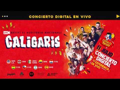 Los Caligaris - Auditorio Nacional (Concierto Digital 11 de julio)