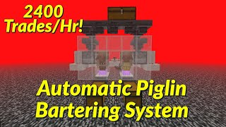 Simple Piglin Bartering System Tutorial!   Best, Easy Minecraft 1.16+ Farms!