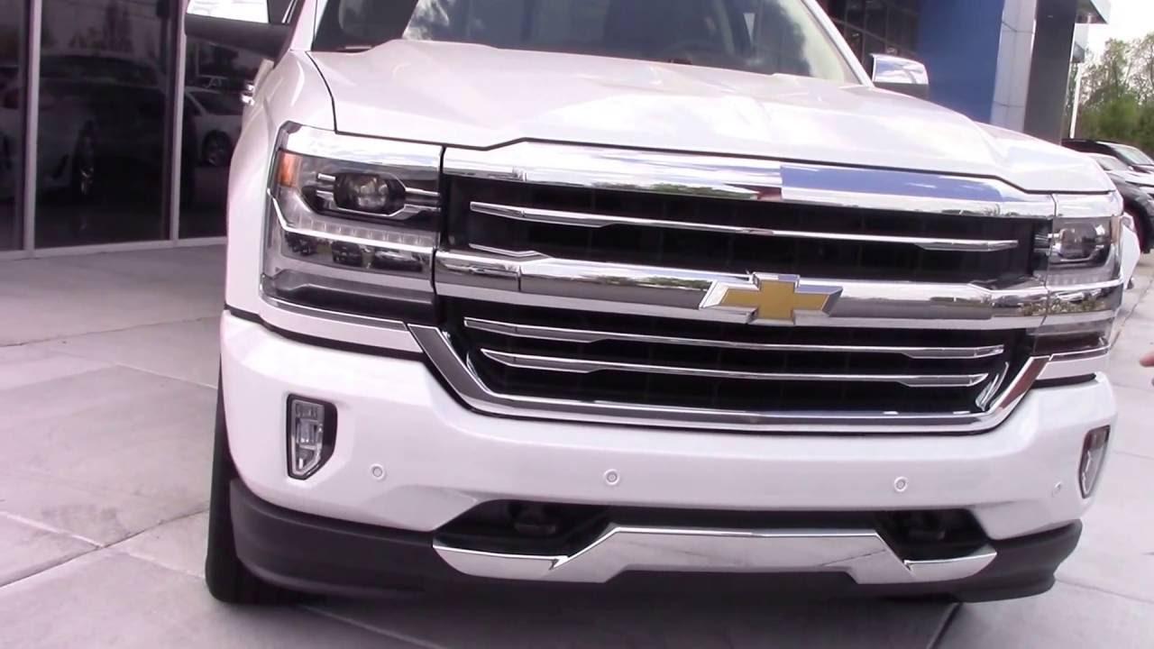 2016 Chevrolet Silverado High Country Hubert Vester Chevrolet Wilson, NC    YouTube