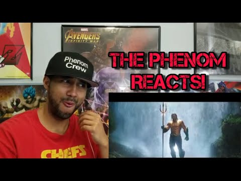 AQUAMAN – Extended Video REACTION!!!!