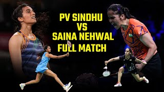 Saina Nehwal Vs PV Sindhu   Women's Singles   Hyderabad Hotshots Vs Awadhe Warriors 2013
