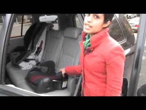 baby car seat hook up