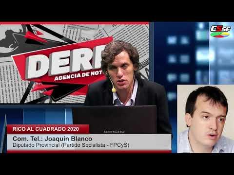Joaquín Blanco: Perotti tiene que entender que no somos una escribanía