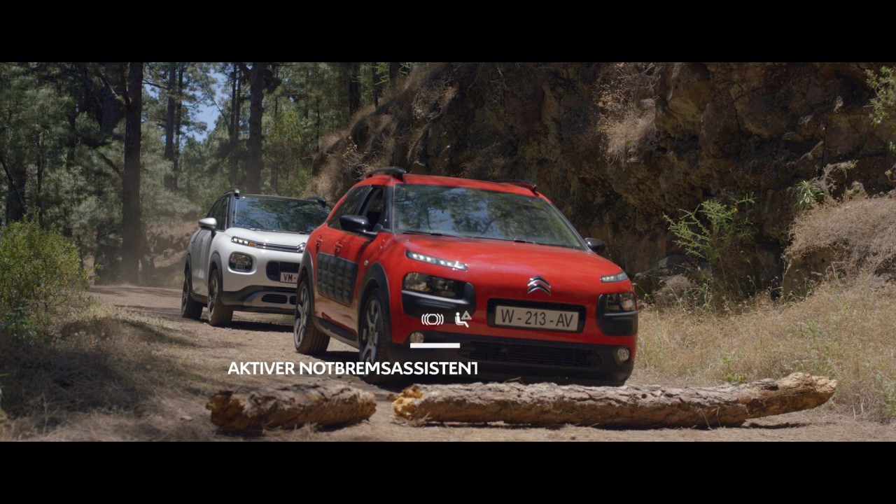 Neuer Compact Suv Citroen Aircross Assistenzsysteme Youtube