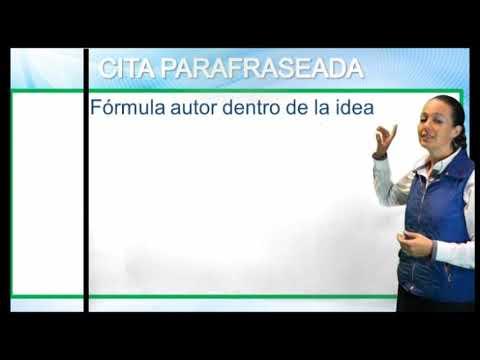 Cómo citar una página web según APA 6 de YouTube · Duración:  1 minutos 19 segundos