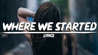 Cover images Lost Sky - Where We Started (Lyrics) feat. Jex
