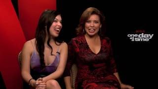 Isabella Gomez & Justina Machado One Day At A Time Interview