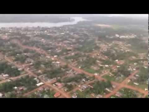 Sobrevoando Oiapoque, Amapá - 2014