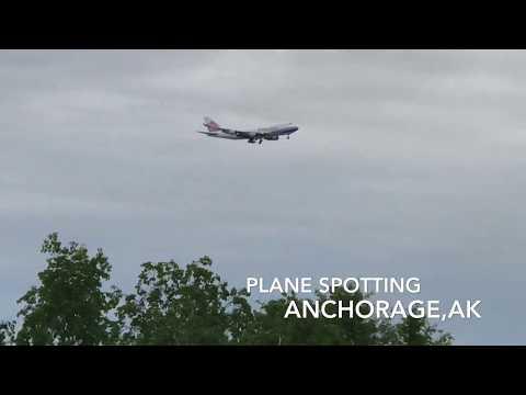 Plane Spotting at Ted Stevens Anchorage International--June 2017