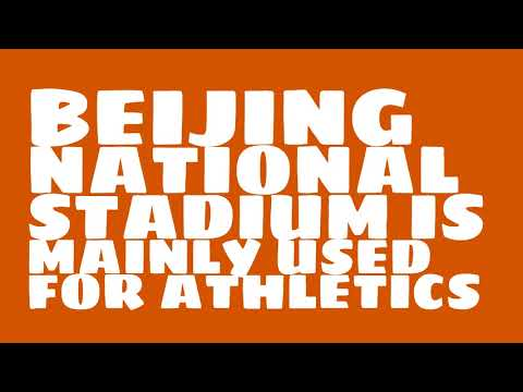 What sport is Beijing National Stadium used for?
