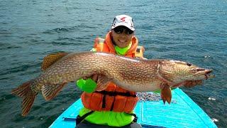 Ловля щуки на озере Байкал и приготовление праздничного плова!
