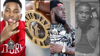Rapper Chris P That Took Funny Mike aka 22 Savage Chain M*RDERED WHILE DRIVING FR0M CLUB