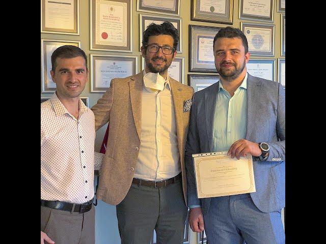 Closed atraumatic rhinoplasty fellowship program by dr. Tas with dr. Oleksii zhuravel