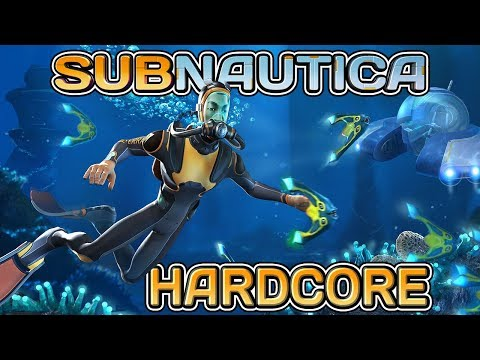 Jelly Shroom Caves - Let's Play Subnautica #17 - HARDCORE MODE + BLIND!