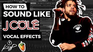 How To Sound Like J. COLE (FLP)   Vocal Effect Tutorial   FL Studio [STOCK PLUGINS]