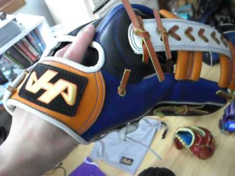 Custom Rolin Baseball Glove Wilson a Golve Of The Month Rawlings Heart of the Hide Pro Preferred