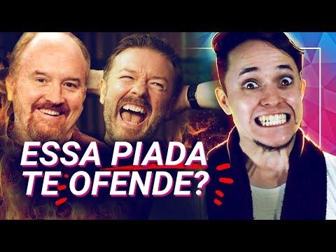 Humor Ácido X Humor Covarde: Ricky Gervais e Louis CK  mimimidias