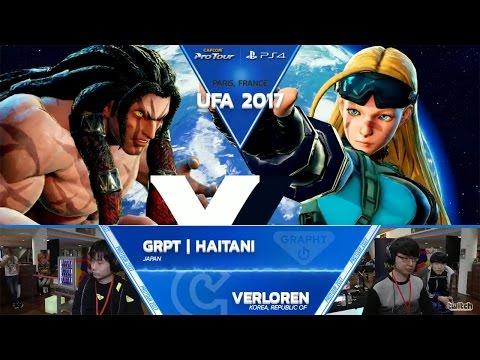 SFV: GRPT Haitani vs Verloren - UFA 2017 Top 8 - CPT 2017