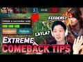 Extreme tips to make a comeback!!!   Mobile Legends Yisunshin