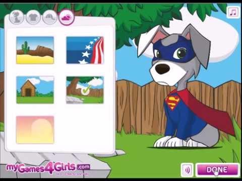 girl dog games