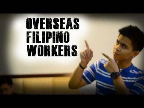 OVERSEAS FILIPINO WORKERS || Life of an OFW