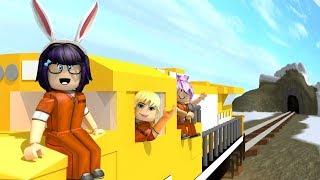 """GIMME DAT TRAIN"" Roblox JAILBREAK TRAIN HEIST UPDATE w/ BBPaws & LuvlyMoonBunny"