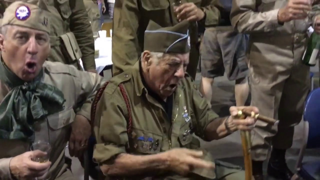 WWII Veteran Combat Blood Upon the Risers (82nd Airborne All-American)