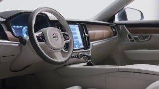 شاهد: فولفو تستعرض التصميم الداخلي لـ S90 الجديدة
