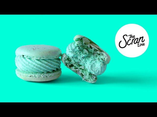 EARL GREY MACARONS- The Scran Line