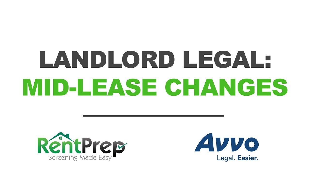 Can Landlords Change the Rules in Mid-Lease? | RentPrep