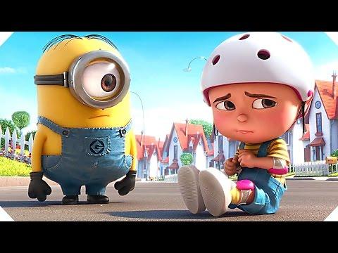 """LES MINIONS - """"Il est NUL ce Vélo !"""" (Mini Film - Court Métrage)"""