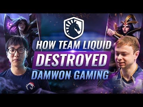 How Team Liquid DEMOLISHED Korea's Damwon Gaming - League of Legends Season 9 World Championship
