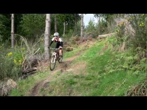Hokitika - Mountain Biking, Blue Spur tracks - West Coast, New Zealand