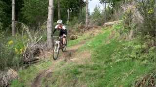 Hokitika - Mountain Biking, Blue Spur tracks - West Coast, New Zealand